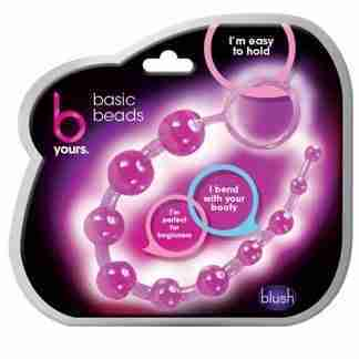 Blush B Yours Basic Anal Beads - Purple