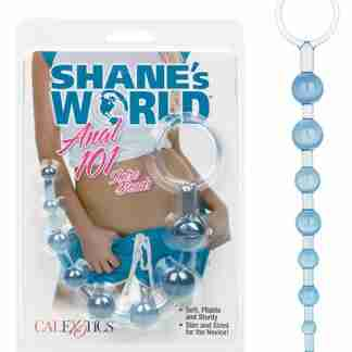 Shane's World Anal 101 Intro Beads - Blue