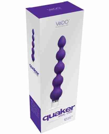 VeDO Quaker Anal Vibe - Into You Indigo
